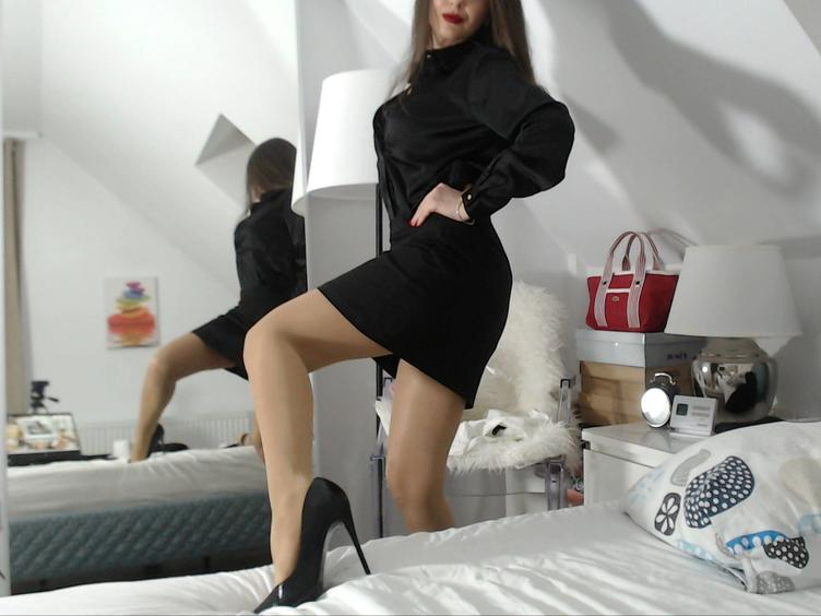 I`m a fetish model amp; dominatrix, so obviously I`m turned on by lots of different fetishes;) Sliding my legs into stockings amp; slipping my feet into a pair of stiletto heels is like foreplay for me! I love playing with different textures also. Nothing gets me wetter than feeling satin, cotton, or latex (my favourite!) brushing against my skin while I`m being felt up. I specialize in a more intimate show, preferring to get to know clients and meeting their unique needs. I`m a professional dominatrix amp; fetish model who adores using my powers of seduction to give you your fetish fix