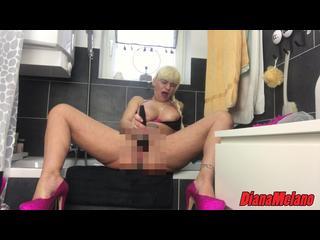 Close-Up, Orgasmus, Piercing, Pussy, Selbstbefriedigung, Squirting, Vibratoren