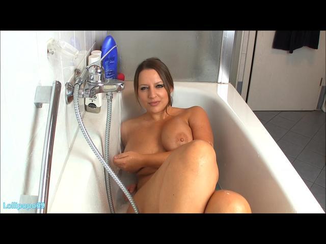 Privat in der Badewanne! Achtung Spritzgefahr!