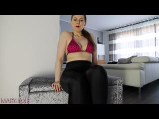Brünett, Close-Up, Dominant, Fussfetisch, Posing, Solo, POV