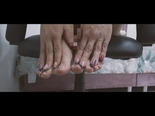 Fingernägel, Fussfetisch, Massage